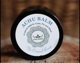 Achu Vapour Rub- Your Natural Alternative for Colds-Flu-Sinus