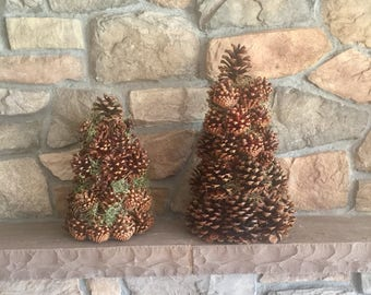 Pinecone Trees - Set of Two