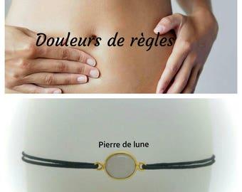 """Bracelet contre les """" douleurs de règles """": la Pierre de Lune"""