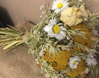 Natural Fields Bridal Bouquet