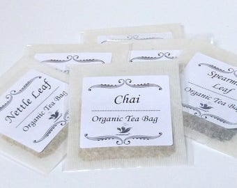 Organic Rose Hip Tea  Bags