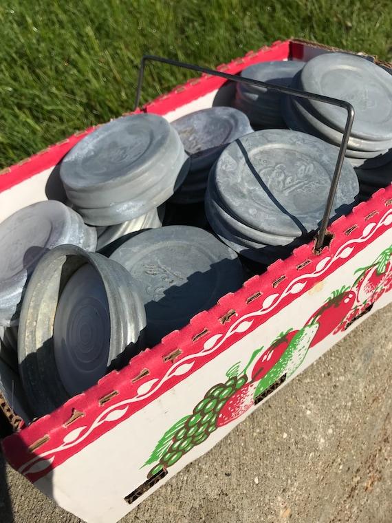 Ball Mason Jar Lid Cap Regular size, Buy one or many