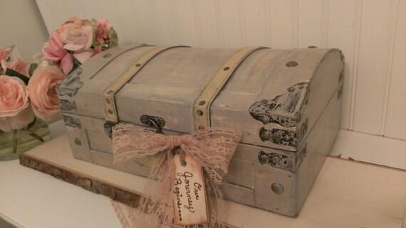 vintage wedding card box luggage card box shabby chic rh etsy com