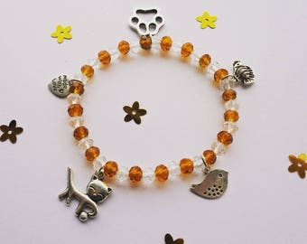 "Elastic Bracelet- ""Animal Friends"""