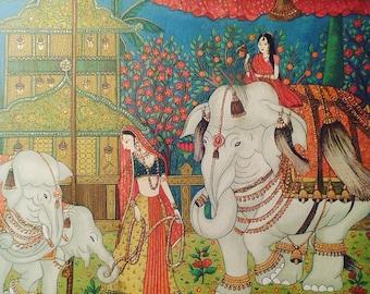 Indian Voyage on Elephant