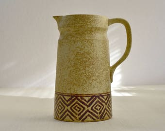 Vintage,Vintage Pitcher,Native American,Clay Pitcher,Collectibles,American Pottery ,Native Clay