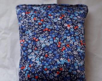 Liberty silk fabric French organic lavender bag