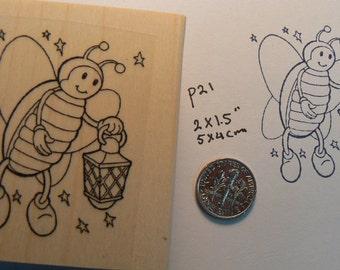 Firefly rubber stamp WM P21