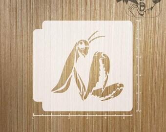 Praying Mantis 783-722 Stencil