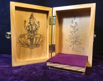 Laxmi Portable Travel Altar Box