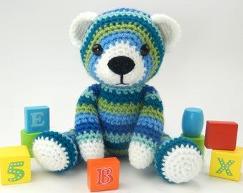 Bobbin the Bear - Amigurumi Crochet Pattern