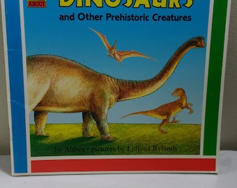 Dinosaurs and Other Prehistoric Creatures by Althea Children's Book (bb1)