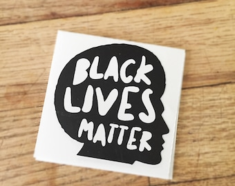 STICKER BLM. MAN