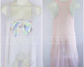 Sailor Scout Custom Flowy Racer Back Tank Top