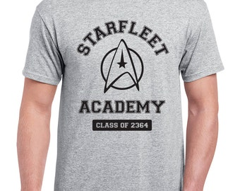Starfleet Academy Star Trek T-Shirt | Spock Kirk Scotty Generation Enterprise Voyager