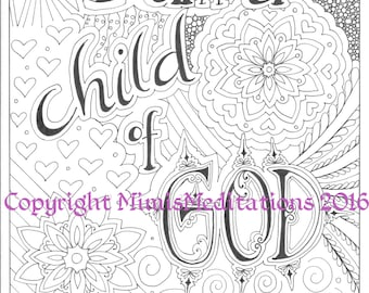 Coloring Page LDS Youth Theme 2016