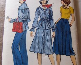 Vogue 9408 uncut size 10 - 3 piece outfit womans clothes