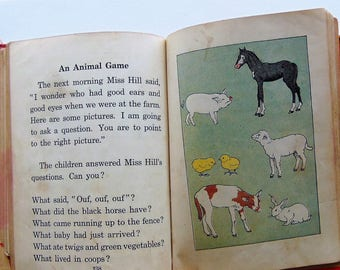 1929 The Children's Own Readers Book One