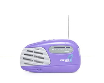 INTERSOUND BEACH Radio FM portable 90s