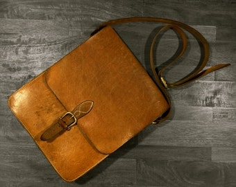 The Messenger, Full grain Leather bag