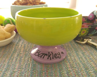 Personalized Pet Bowl, Cat Dish, Dog Bowl, Pet Food Bowl, Dog Water Dish, Pet Water Bowl, Pet Lover, Pet Gift, Cat Bowl, Gifts Under 20
