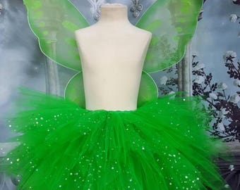 Tinkerbell style tutu outfit with wings