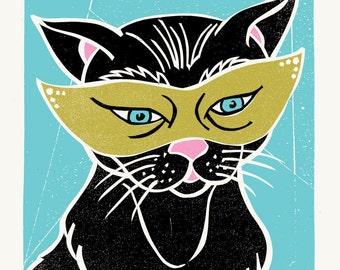 Catnip Print by Print Mafia