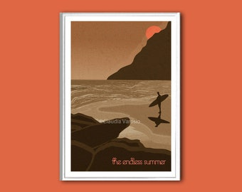 The Endless Summer movie poster in various sizes
