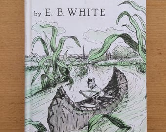 Stuart Little by E.B. White 1973 Harper and Row hardback edition