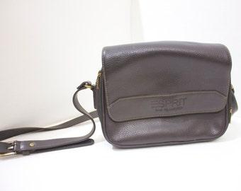 Vintage Retro ESpirit Leather Purse Bag