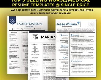 Nurse Resume Template Medical Resume Template Nursing CV