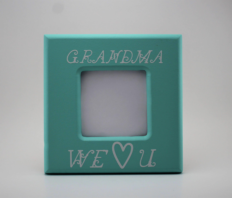 Oma die wir lieben Sie Bild Rahmen 4 x 6 Bild Rahmen