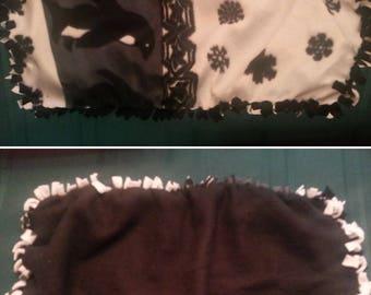 Wobbie, homemade, security blanket, baby blanket, baby shower