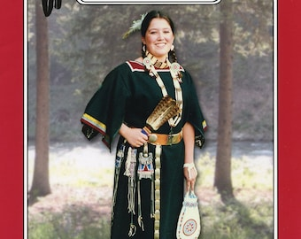 Missouri River Native American Indian Tradecloth Dress Sewing Pattern # 19 Sizes Small - X-Large