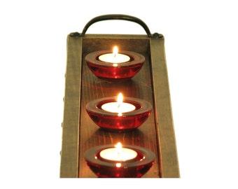 Candle Tray, Long Narrow Tray, Table Centerpiece Tray, Mantle Candle Holder, Mantle Decor, Table Centerpiece Tray, Holiday Centerpiece Tray