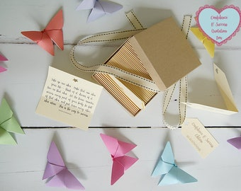 Confidence & Success Quotes - Box of 50 Handmade Quotations