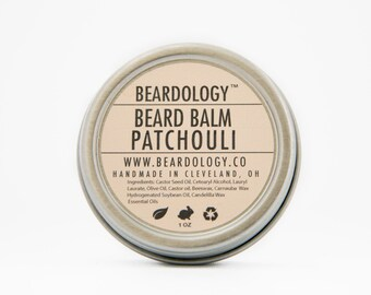 Patchouli -  All Natural Beard Balm  -  1oz.
