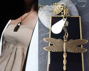 """Dragonfly necklace """"Amanda"""""""