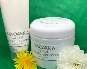 Mineral Sunscreen *reef safe**Chemical-free**