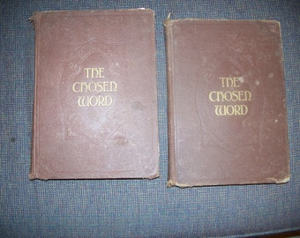 De gekozen woord boeken