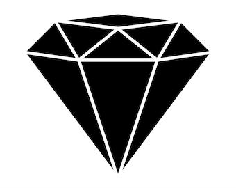 Diamond svg   Etsy