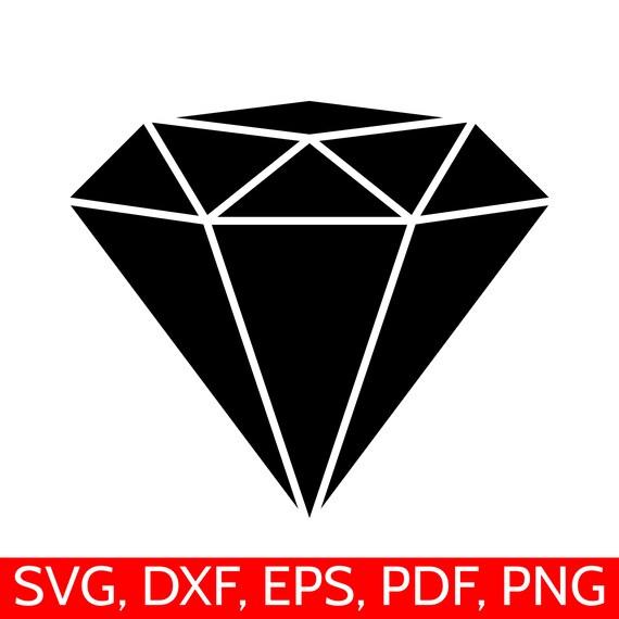 diamond svg file diamond clipart diamond dxf diamond silhouette rh etsystudio com diamond clipart png diamond clipart free