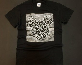 Joy Division mouse Inspired T-Shirt