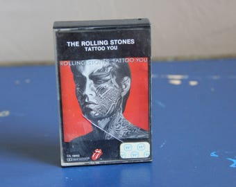 Vintage 1980s (1981) Cassette Tape The Rolling Stones - Tattoo You
