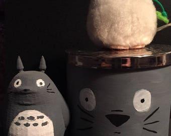 My Neighbor Totoro Handpainted Container
