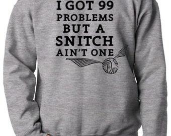 Harry Potter Inspired Quidditch Snitch Sweatshirt