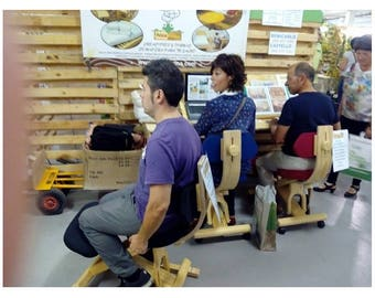 Ergonomic Chair rocker/Wheels