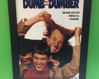 Dumb and Dumber framed movie poster