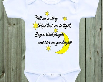 Tell Me A Story Baby Onesie Unisex Baby Clothing Gender Neutral Newborn  Infant Baby Clothes Baby Shower Gift Cute Baby Saying