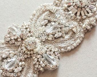 Wedding Sash belt -  Italia 7.5 inches